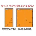 fire door 2 hour